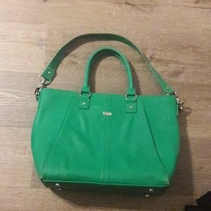 Thirty-one jewell faux leather bag purse etc